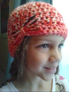 Butterfly Crocheted Hat