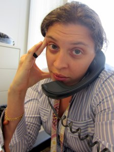 This is me calling Child Support Enforcement. This is after speaking to the rep and waiting for the supervisor. Can you read my mind?